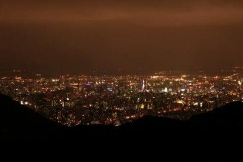 幌見峠の夜景