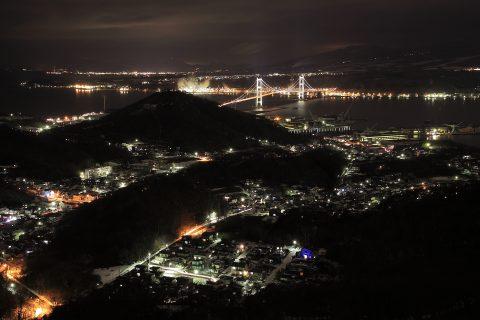 室蘭の工場夜景